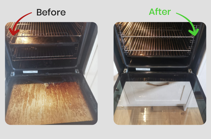 how much is an oven cleaning service